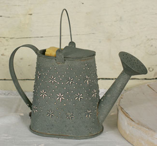 Barn Roof Color Water Can Tin Punch Electric Wax Tart Warmer